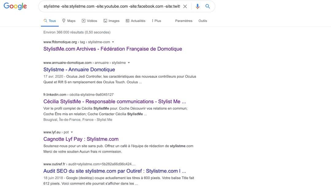 trouver les sites qui vous cite sans backlink