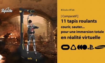 Comparatif tapis roulants pour casques en réalité virtuelle ou tapis VR
