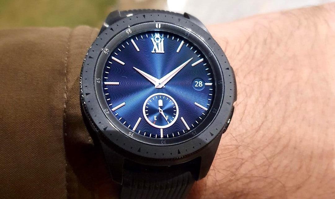 Galaxy Watch 3 design caractéristiques