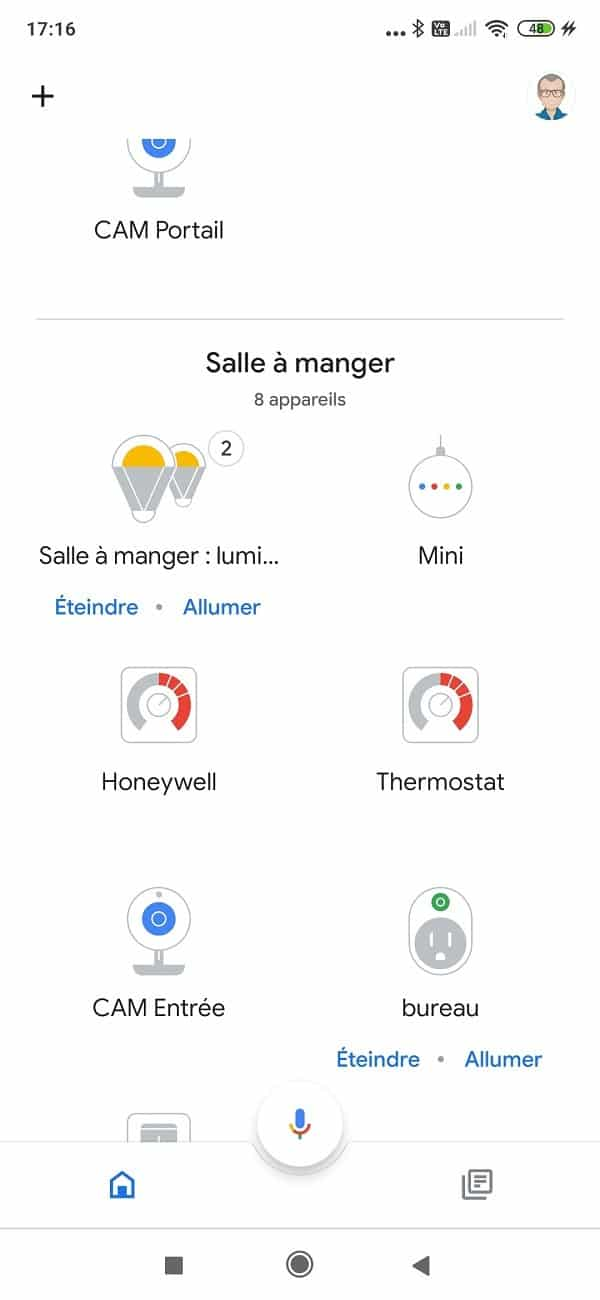 Google assistant thermostat Honeywell T6 T6R
