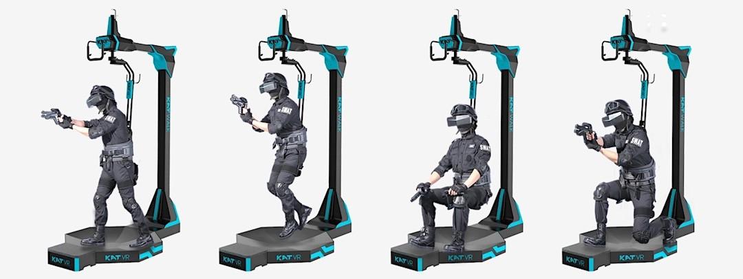 Comparatif des tapis roulants pour casques en réalité virtuelle : Kat Walk