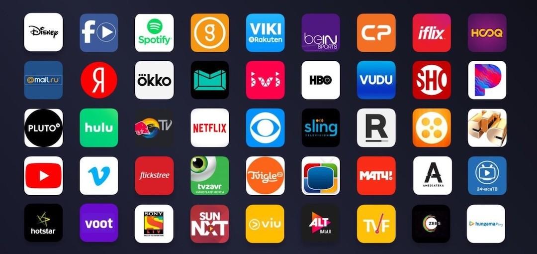 Sreaming et apps Mi Sttick Tv