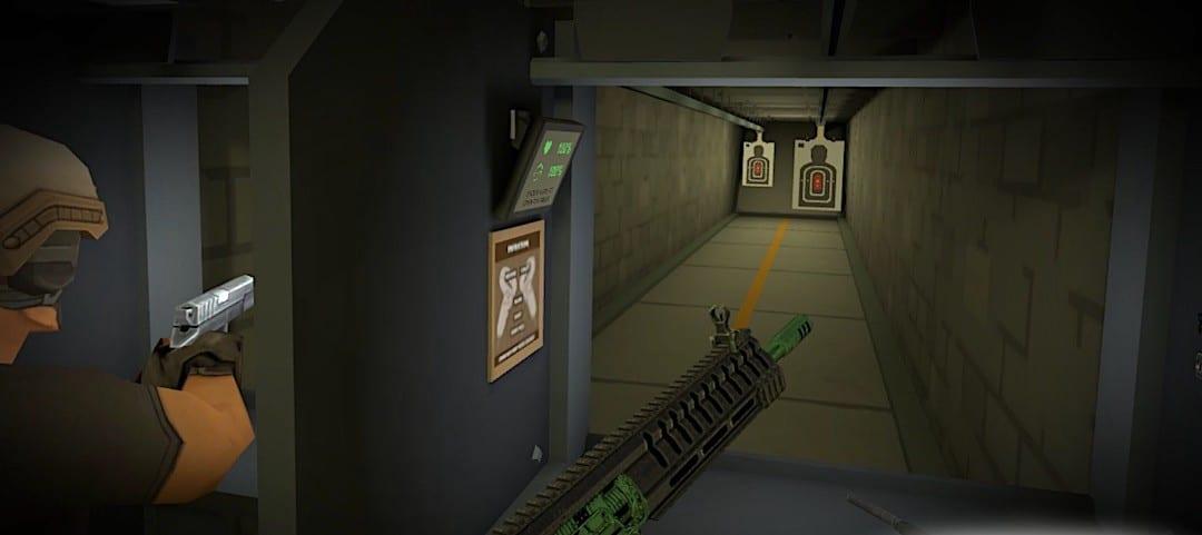 stand de tir Operation Serpens