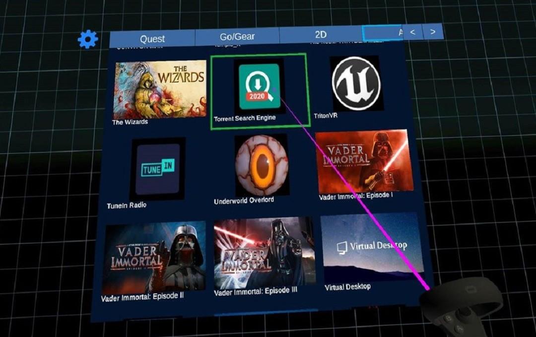 télécharger film torrent 3D Oculus Quest