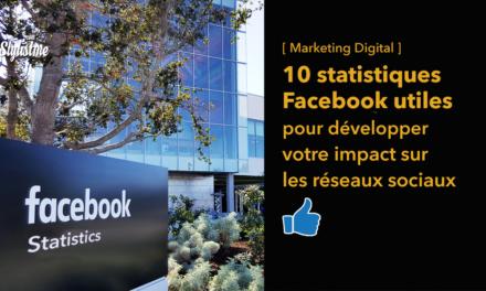 10 statistiques Facebook pour booster votre stratégie réseaux sociaux