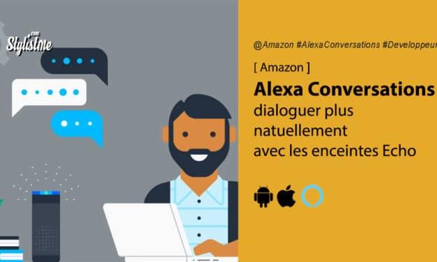 Alexa Conversations : dialoguer naturellement avec votre enceinte vocale