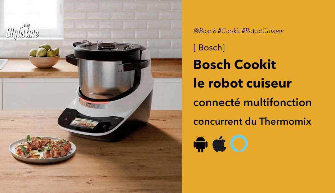 Bosch Cookit avis prix test robot cuiseur