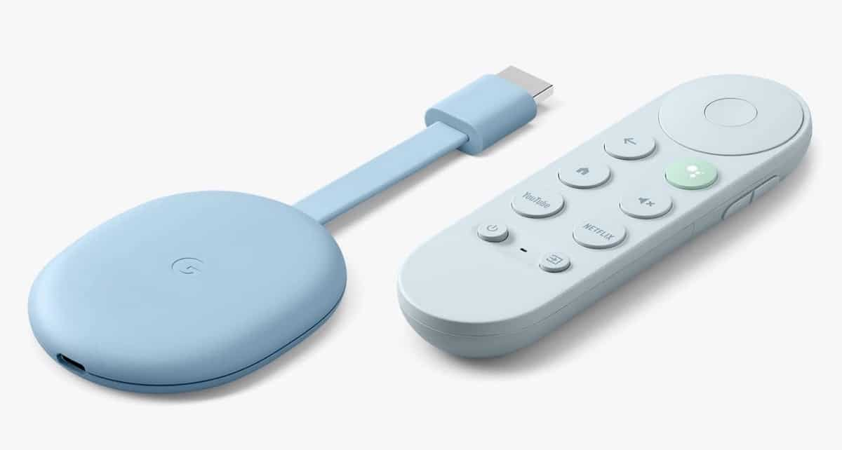 Chromecast with Google Tv couleurs