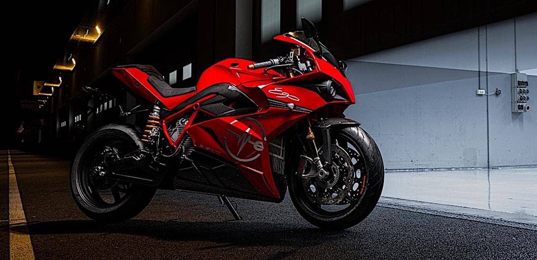 Energica Ego + moto sportive électrique italienne