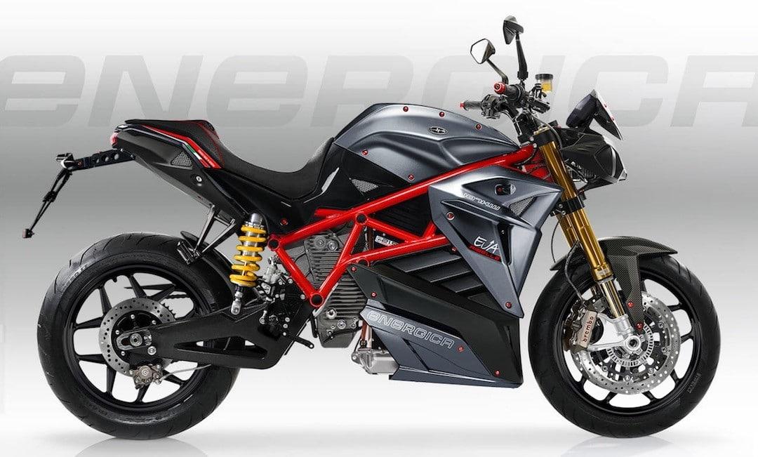 Energica Ego test moto sportive électrique