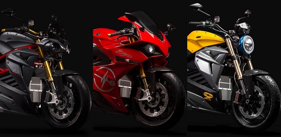 Energica gamme moto electrique