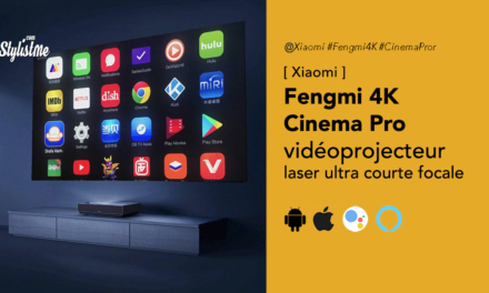 Fengmi4K Cinema Pro vidéoprojecteur ultra courte focale