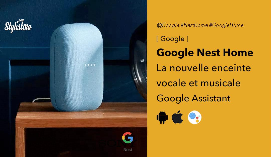 Nest Home 2020 : les atouts de la nouvelle enceinte vocale de Google