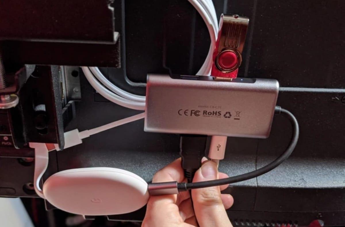 Hub USB C Chromecast