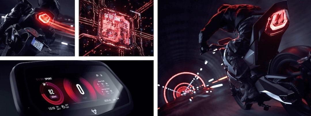 Niu RQI GT prix moto électrique
