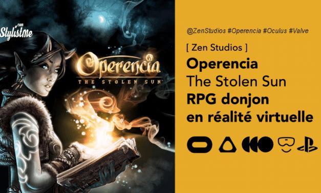 Operencia The Stolen Sun VR donjons et dragons en réalité virtuelle