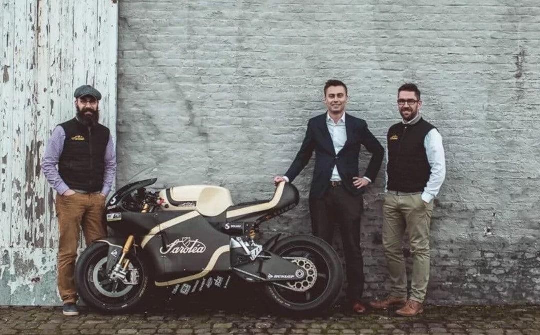 Saroléa moto électrique Belge