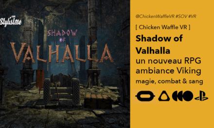 Shadow Of Valhalla VR un RPG avec combat et magie chez les vikings