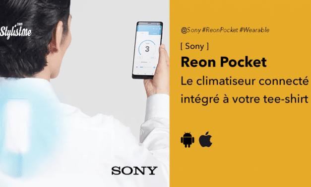 Sony Reon Pocket : votre chemise ou polo avec un climatiseur connecté