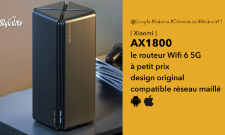 Xiaomi AX1800 Wifi 6 5G : routeur le moins cher du marché pour 52 €