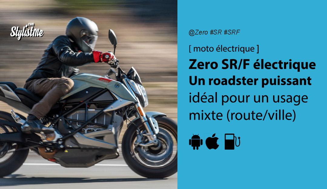 Zero SRF avis test prix roadster moto électrique
