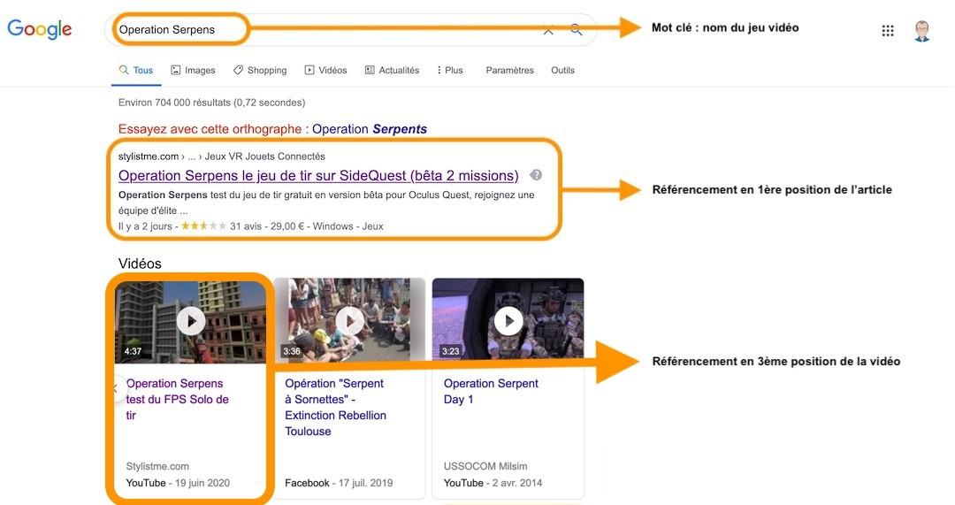comment référencer une vidéo YouTube sur Google