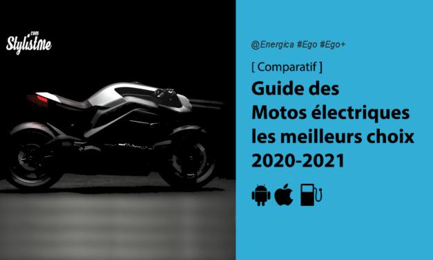 Comparatif motos électriques les meilleurs choix disponibles de 2020