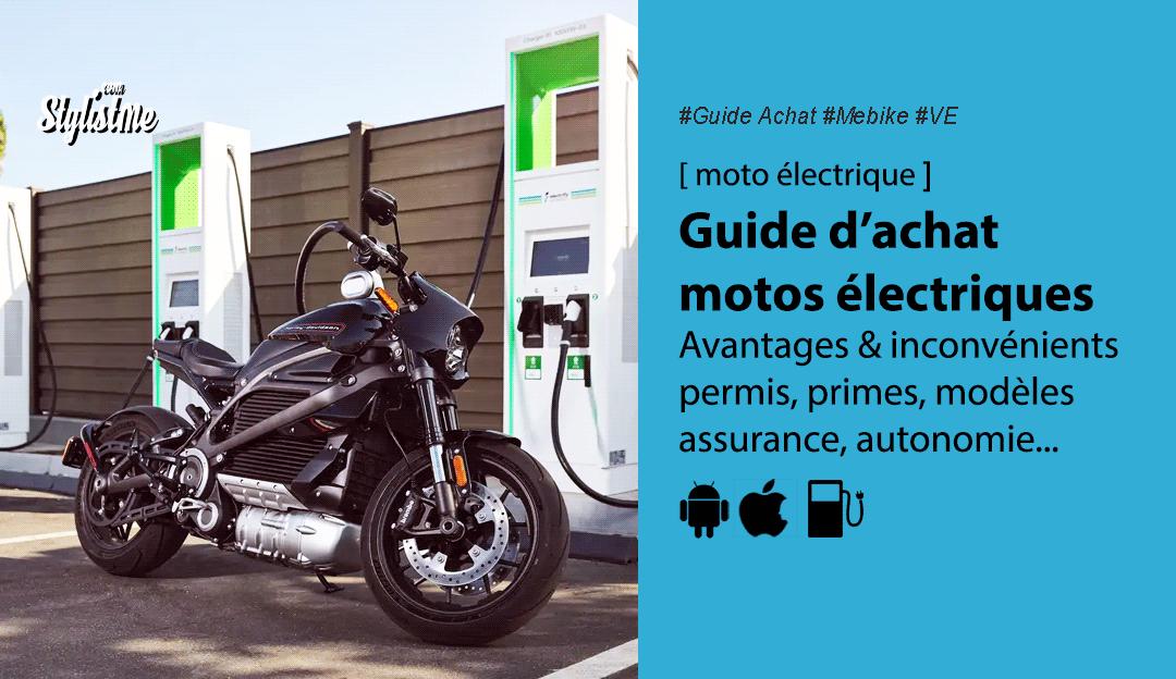 Guide achat moto électrique : caractéristiques, primes, style, batterie