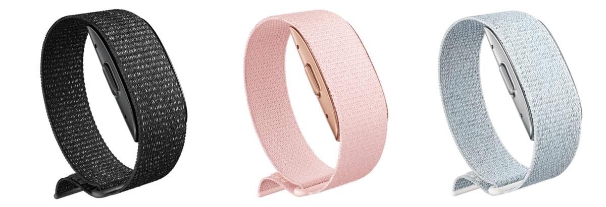 Amazon Halo Band bracelet connecté couleur