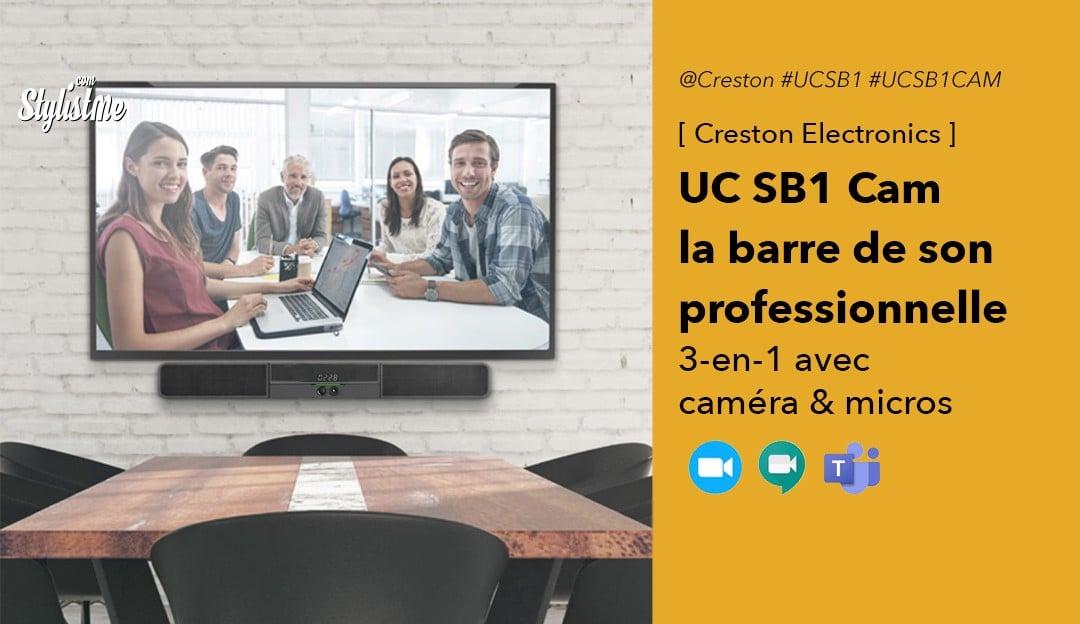 Creston UC SB1 CAM avis test prix
