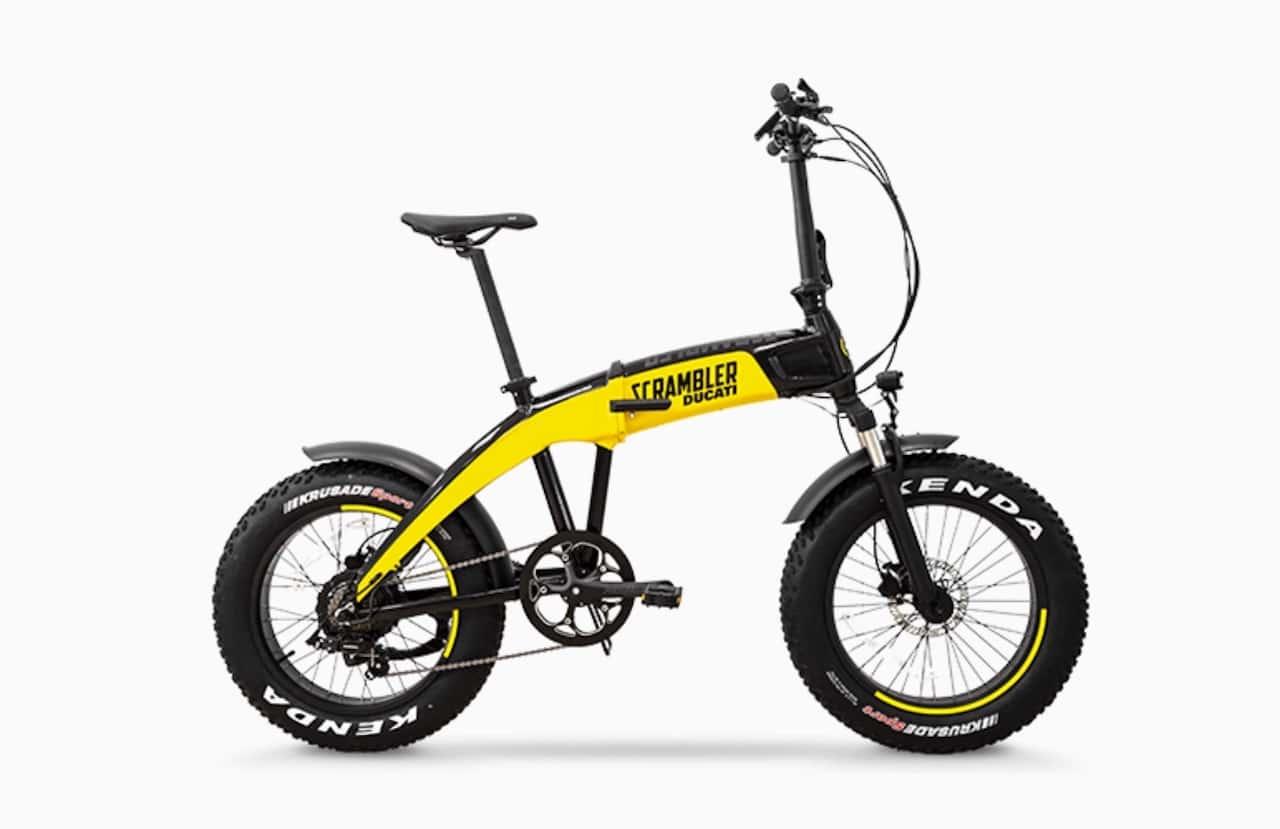 Ducati Scrambler SCR-E vélo électrique