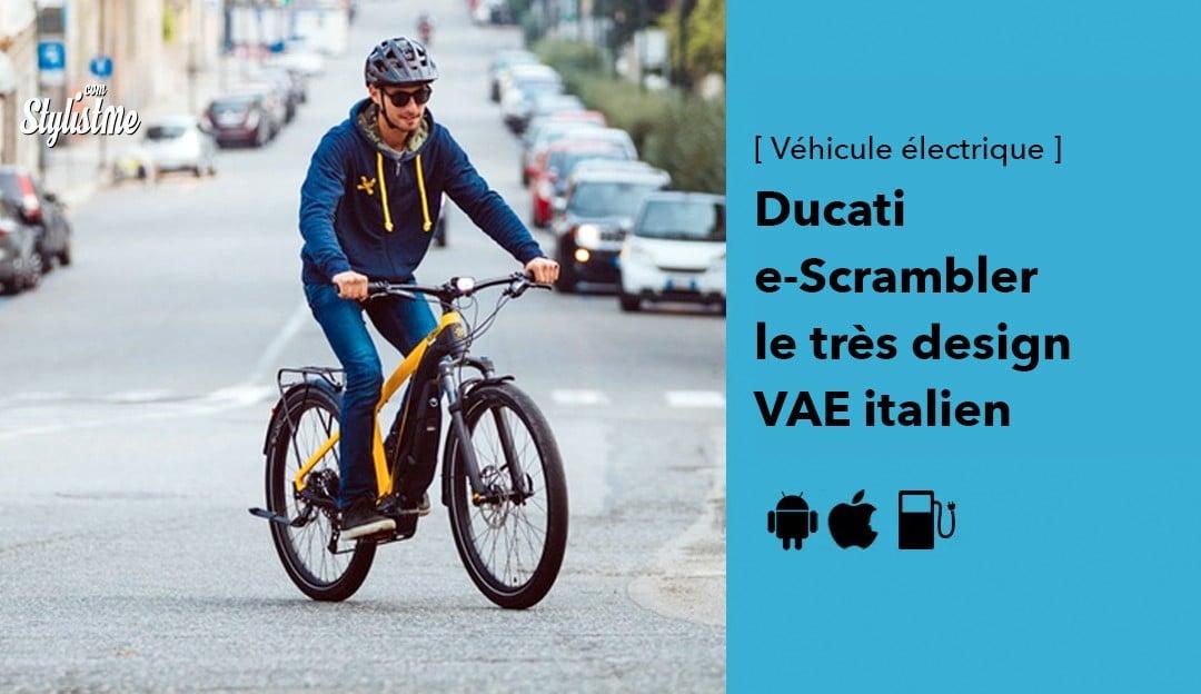 Ducati e-scrambler avis prix test