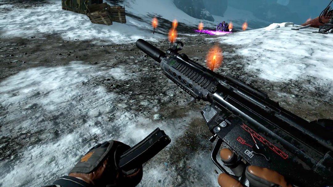 Frostpoint VR gameplay