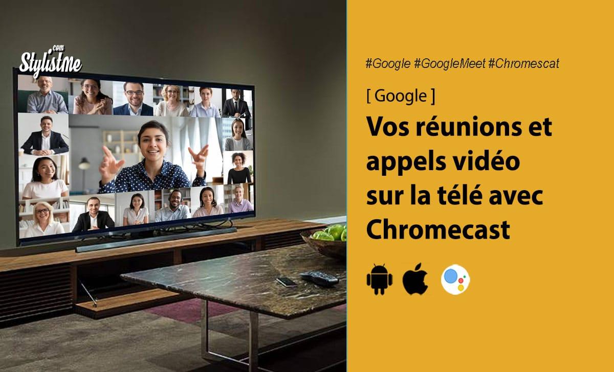 Google Meet Google Chromecast