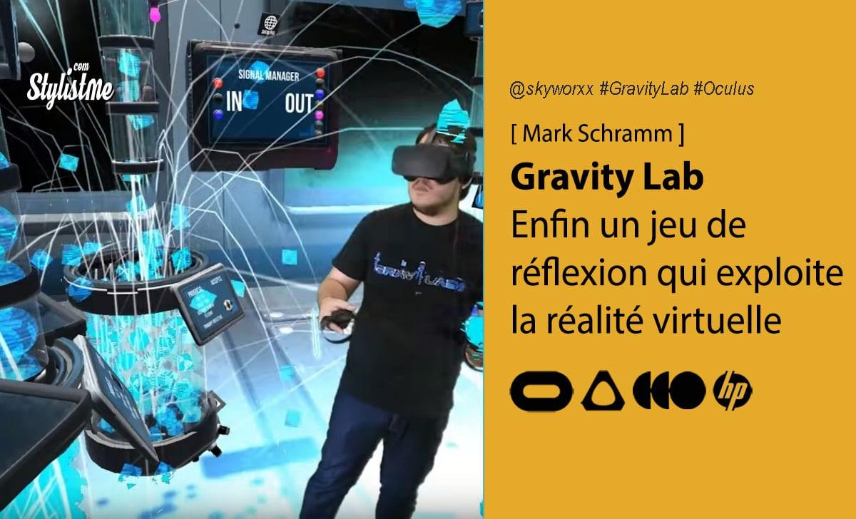 Gravity Lab VR avis test prix date
