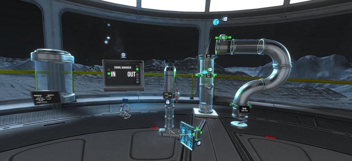 Gravity Lab différents modules et utilisation