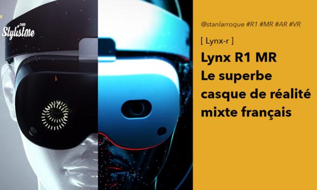 Lynx R1 MR nouveau casque de réalité virtuelle et réalité augmenté