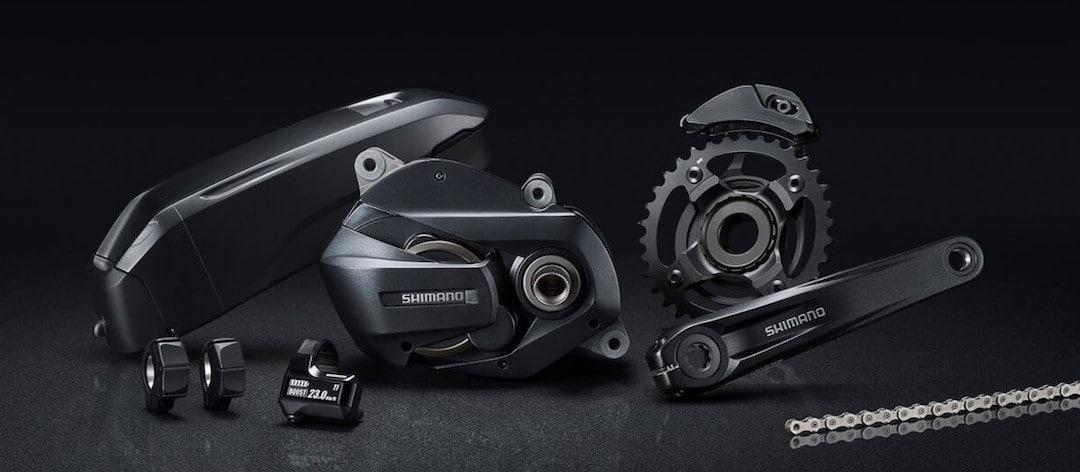 Moteur Ducati e-scambler Shimano Steps E7000