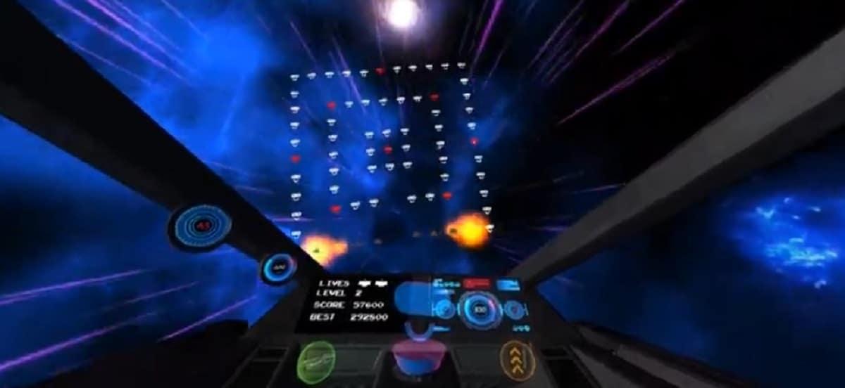 Nebula Nemesis jeux 8 bits Oculus Quest