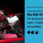 Niu RQi GT un puissant roadster urbain électrique à autonomie limitée