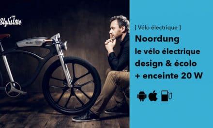 Noordung un vélo électrique avec un style café racer et enceinte intégrée