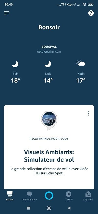 Nouvelle App Alexa ce qui change