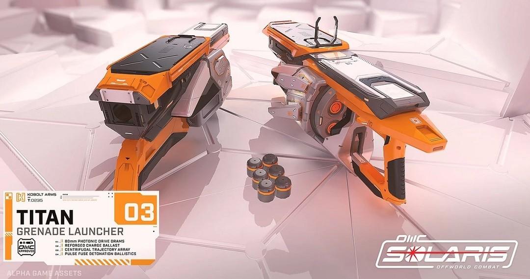 Solaris VR armes