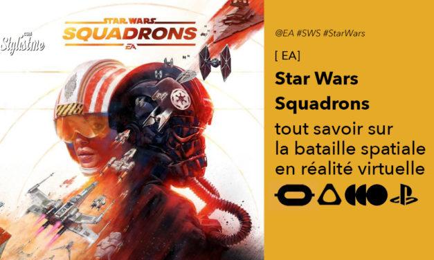 Star Wars : Squadrons rejoignez la flotte pour des combats spatiaux en réalité virtuelle