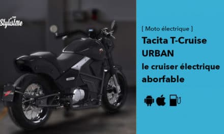 Tacita T-Cruise Urban : le charme de la moto électrique à l'italienne