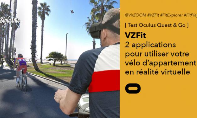 VZFit test : utiliser son vélo d'appartement en réalité virtuelle