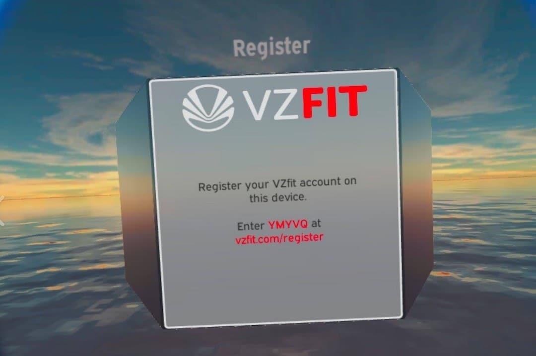 enregistrement capteur VZFIT register