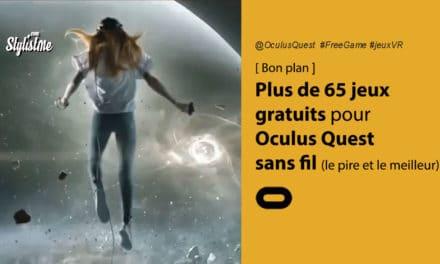 Jeux gratuits Oculus Quest : plus de 65 jeux VR classés par catégorie