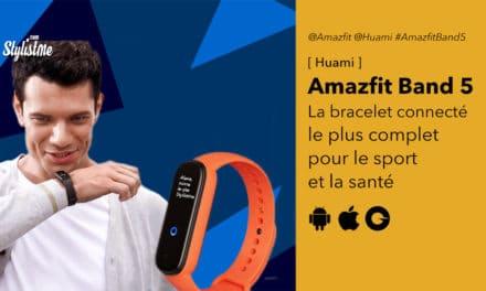 Amazfit Band 5 le meilleur concurrent du Xiaomi Mi Band 5