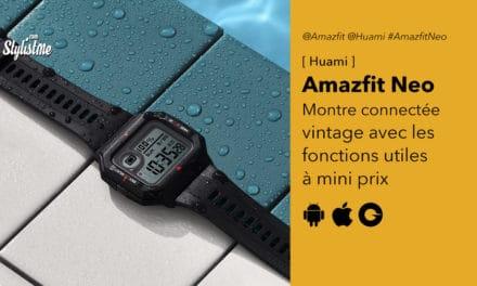 Amazfit Neo un look des années 80 avec la technologie actuelle